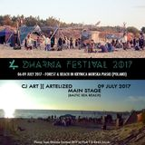 CJ Art ][ Artelized @ Dharma Festival 2017 (Baltic Sea beach - Poland) [09.07.2017]