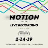 Live From Motion DC 2-14-2019 - DJ Trayze