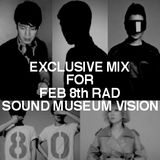 "EXCLUSIVE MIX FOR ""RAD"" 2.8 (SAT) at  Vision tokyo"