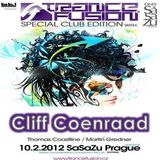 10.02.2012 - Cliff Coenraad Live @ Trancefusion Special Club Edition - SasaZu Prague