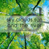 pd canvas - sky, clouds, sun and the river - chill house mix