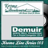 DEMUIR - 003 - KROME LIVE SERIES