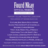 Hiphop/Club/Trap mix June 2015 by DJ Fourd Nkay