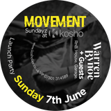 Kosho | Movement Sundayz - Mixed By DJ Warren Bynoe