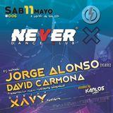 Jorge Alonso @ Never Dance Club (Alcala de Henares, 11-05-19)