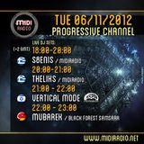 Theliks-Aurora dream (Live Special Dj Set) @Midiradio 6/11/12