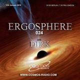 Dirk pres. Ergosphere 024 (11th January 2018) on Cosmos-Radio.com