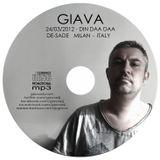 DJ GIAVA 24.03.2012 - DE-SADE (milan Italy)