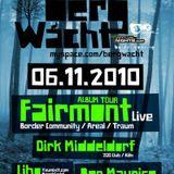 Fairmont -Live- (Border Community) @ 2 Jahre Bergwacht, Artheater - Köln (06.11.2010)