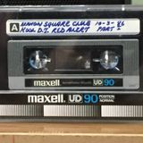 CLUB CALLED UNION SQUARE (NYC) 1986 OFF CASSETTE TAPE
