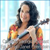 Identity, Injury, and Rewriting a Musician's story with Janet Orenstein