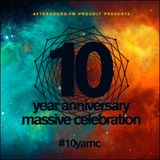 10YAMC with Johan Gielen (2hours set) May 30th 2016