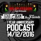 1 YEAR ANNIVERSARY PODCAST Ecko Beam & Friends @ BIGUPSESSION.COM