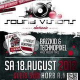 BaZZkid,  TechnoPixel, Beatparade, Afterparty, 2012,