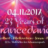JonasJustus @ ATISHA Trancedance 23 Anniversary 04-11-2017 Set 3