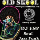 ESP - Live on Genesis88 radio Soul , Jazz Funk & Rare Groove