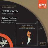Beethoven Violin Concerto in D major, Op. 61 Larghetto (Itzhak Perlman)