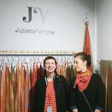 Motoco Monday - La sorcière des foulards en soie : Juliette Vergne, artisane d'art.