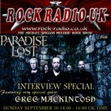 The Michael Spiggos Melodic Rock Show feat. Greg Mackintosh (Paradise Lost) 10.09.2017