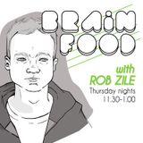 Brain Food with Rob Zile - Live on KissFM - 30-10-2014 - GUEST MIX - LEX GORECORE