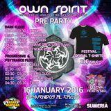Overclouds dj set - Pre Own Spirit Festival 16.01.2016
