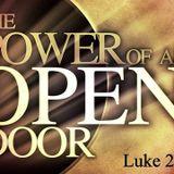 The Power of an Open Door - Audio