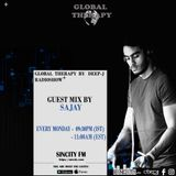 Global Therapy By Deep - J  + Guest Mix SAJAY