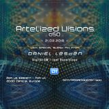 Artelized Visions 050 (February 2018) with guest Daniel Lesden on DI FM