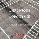 Charlie pour emporter : Chronique Toponymie - Le Grand Tronc