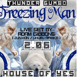 Adam Gibbons Live at Thunder Gumbo's Freezing Man 2016 _ House of Yes /NYC