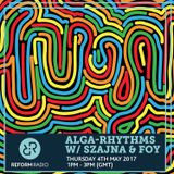Alga-Rhythms w/ Szajna & Foy 4th May 2017