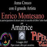 Il grande Artista Enrico Montesano , gradito ospite di Anna Crecco su Oltre Tutto Radio