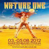 Pierre @ Stammheimbunker Nature One 2012 - Raketenbasis Pydna Kastellaun/Hunsrück - 04.08.2012