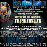 Hard Rock Hell Radio - Heavy Rock Rapture - August 29 feat Thunderstick interview & music