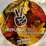Republic 100.3 Radio > October Tracks