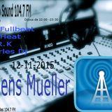 techno sound present, Jens Mueller , exclusive set techno sound 104.7 fm