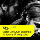 RA.530 Motor City Drum Ensemble vs Jeremy Underground