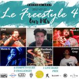 #LEFREESTYLE s2017e04 2017/07/27 // JDEF vs SHEM G. vs JVMES GRAY v MONK.E vs HARBODY JONES vs CHAPS