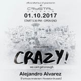 Alejandro Alvarez Live @ Crazy Party Cologne - 01-10-17