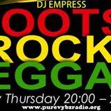 DJ Empress - Roots Rock Reggae show 14-6-2018 - Pure Vybz radio [Thursdays 8-10PM GMT]