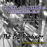 VINYL JUNKIE & RACHAEL E.C B2B live on www.onlyoldskool.com radio ft guest mix from THE DJ PRODUCER