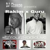 DJ Cheese presents Rakim x Guru
