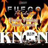 DJ Eddie G - Fuego Fridays Live Mix July 25th 2014 On KNON 89.3fm