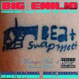 """Big Emilio Presents: """"Hardcore True SchoolHip Hop MCs"""" The Beat Swapmeet Mixtape Vol. 1 summer 2014."""