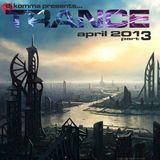 dj komma presents... April 2013 / Trance part 3