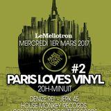Paris Loves Vinyl #2 - Le Mellotron Live Show March 2017