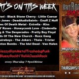 The ROXX Show at Hard Rock Hell Radio 7th Sept NEW Jo Dog & the Desperados, Theia, The Idol Dead