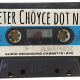 "Peter Choyce on ""No Commercial Potential"", WZBC, Jan 23, 1990"
