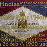 Marches Pour l'Honneur 17 KAOS radio Austin Mosh Pit Hell of Metal Punk Hardcore w doormouse dmf