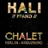 im Garten des Chalet Berlin mit Hali - 9. August 2014